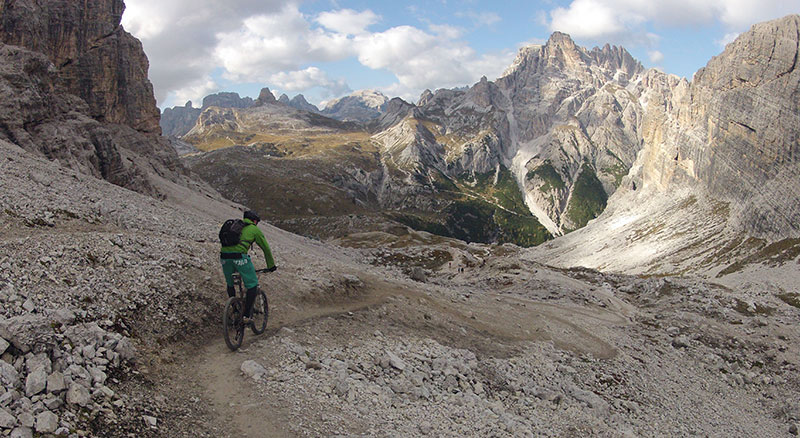 Mountainbike, Campo Tures, Sand in Taufers