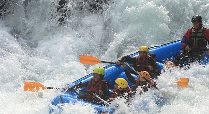Rafting, Campo Tures, Sand in Taufers